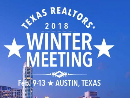 Brent Huddleston Speaks to Texas Association of Realtors Winter Meeting